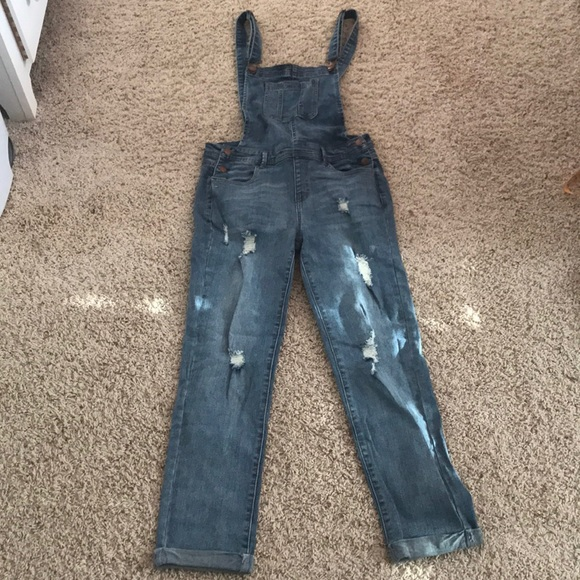 262cc14fe8f3 c'est toi Jeans   Skinny Denim Overalls New With Tags From Ragstock ...
